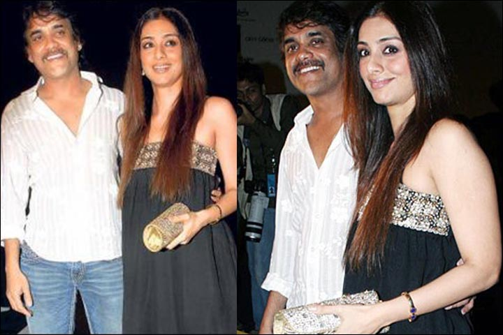 Tabu Marriage - Tabu And Nagarjuna Spotted By The Press