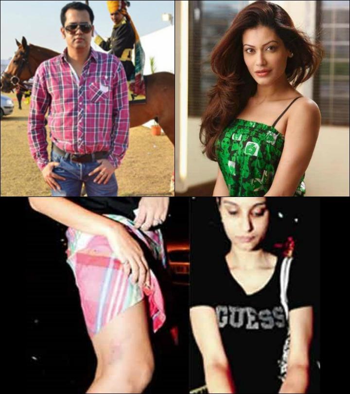 Rahul Mahajan Marriage - Rahul Mahajan And Dimpy Ganguly And Inset Dimpy's Bruise Marks
