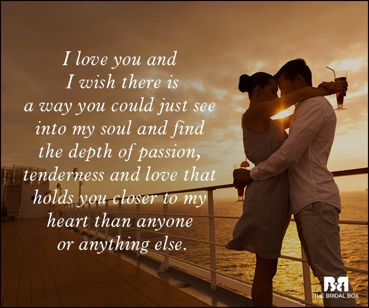 Romantic Love Messages - See Into My Soul