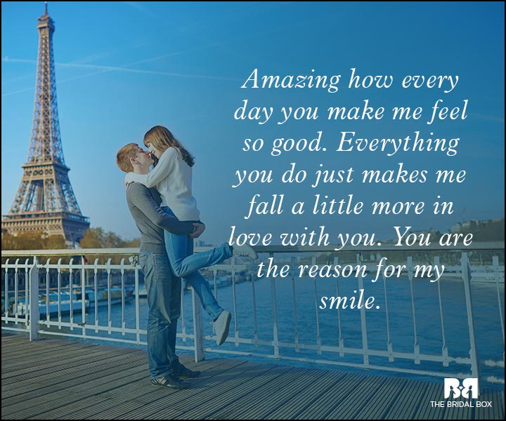 Romantic Love Messages - You're Amazing