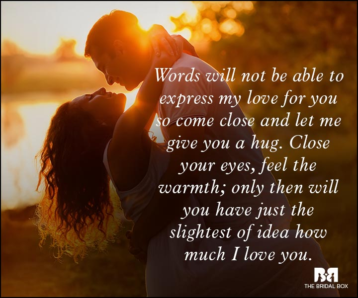 Romantic Love Messages - Feel My Love