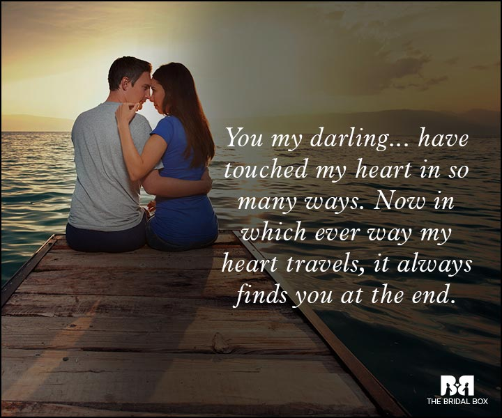 Romantic Love Messages - My Heart Always Finds You