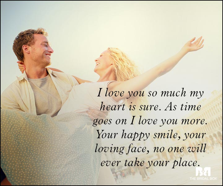 Romantic Love Messages - My Heart Is Sure