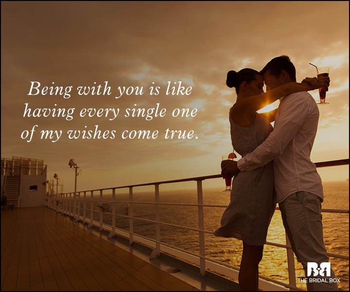 Romantic Love Messages - All My Wishes Come True