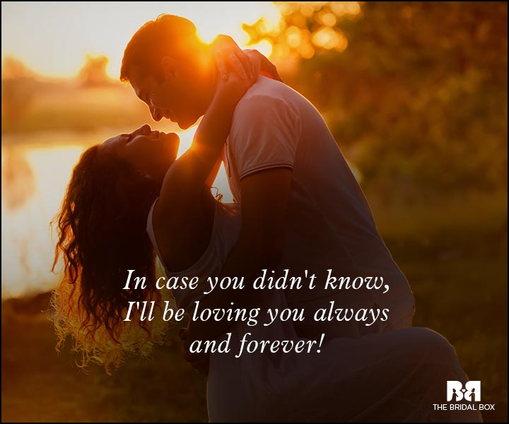 Romantic Love Messages - Forever