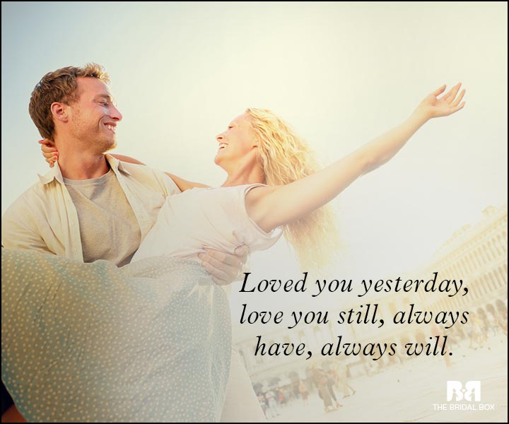Romantic Love Messages - Always Have Always Will