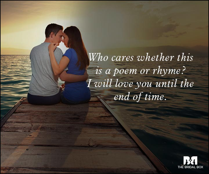 Romantic Love Messages - Until The End Of Time