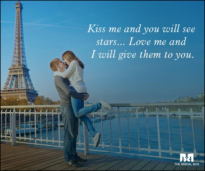 Romantic Love Messages - So Kiss Me