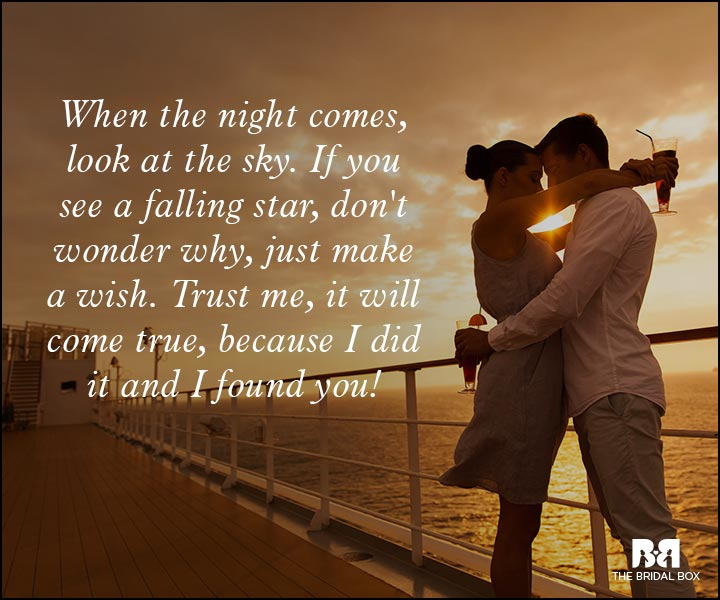 Romantic Love Messages - Make A Wish