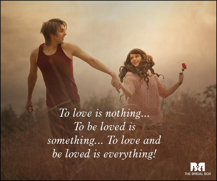 Romantic Love Messages - To Love And Be Loved