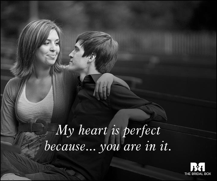 Romantic Love Messages - My Heart Is Perfect
