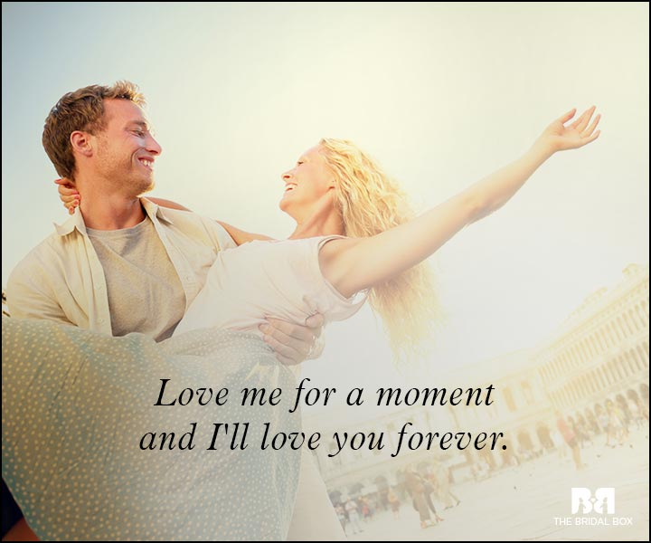 Romantic Love Messages - For A Moment