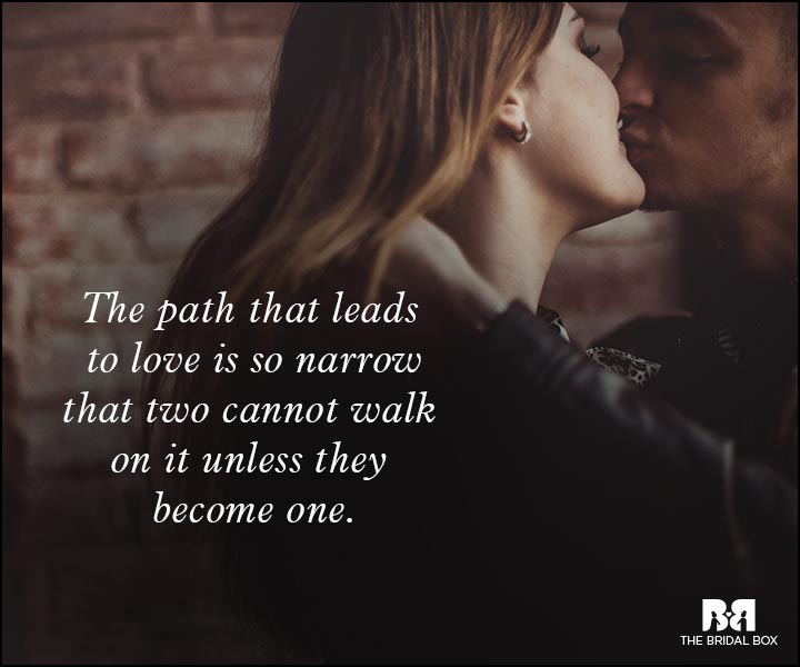 Romantic Love Messages - The Path To Love