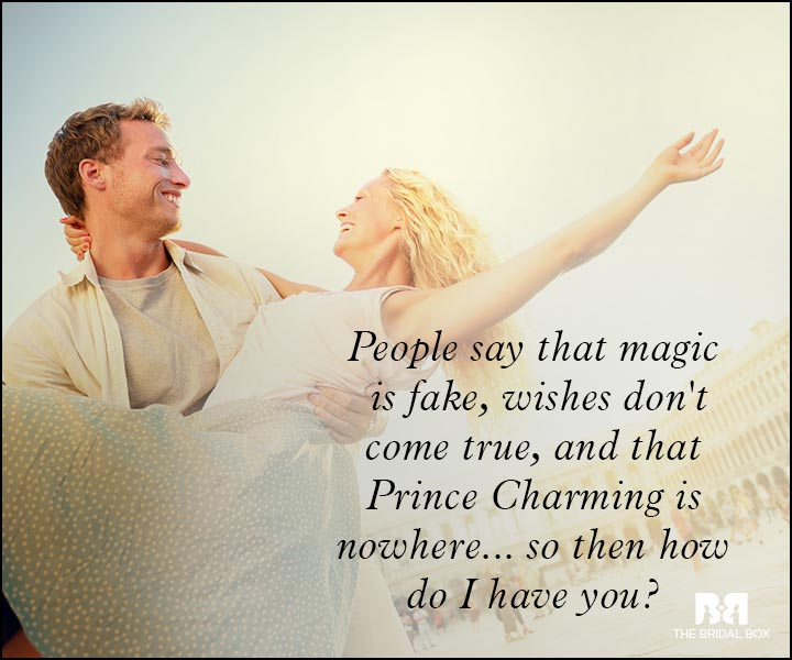 Romantic Love Messages - People Say Crazy Things