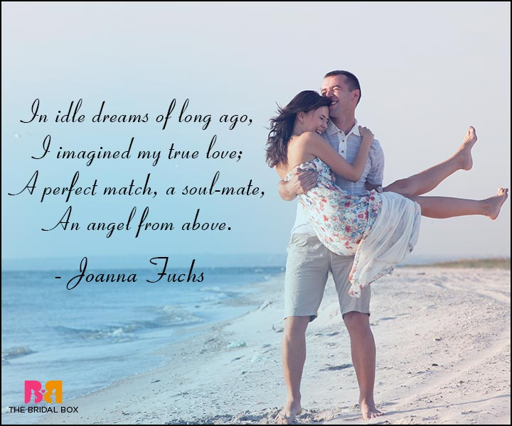 Short Romantic Love Poems - Joanna Fuchs