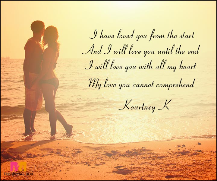 Short Romantic Love Poems -  Kourtney K