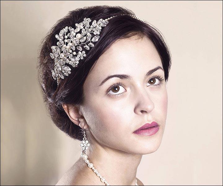 Wedding Tiara - A Bouquet On Your Head