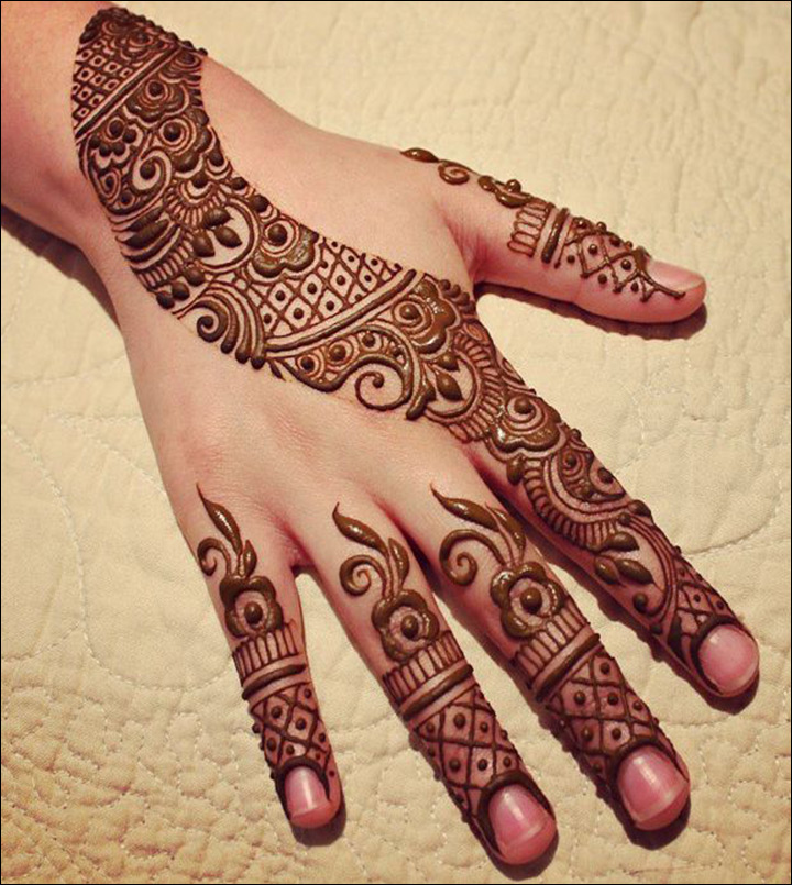 Khaleeji Henna Designs: Khaleeji Mehndi Designs: 10 Awesome Designs That Are Trending