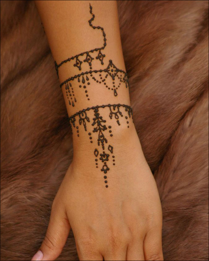 Small Mehndi Designs - Back In Time