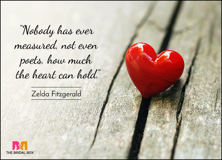 Short Love Quotes - I Can't Express How Much I Love You - Zelda Fitzgerald