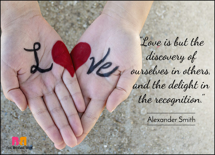 Short Love Quotes - Your Happiness Is My Happiness - Alexander Smith