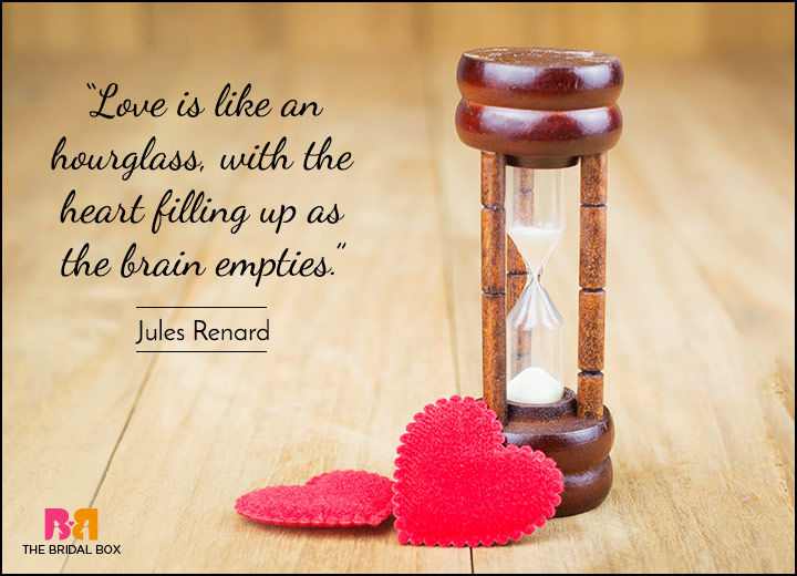 Short Love Quotes - I'm Blind In Your Love - Jules Renard