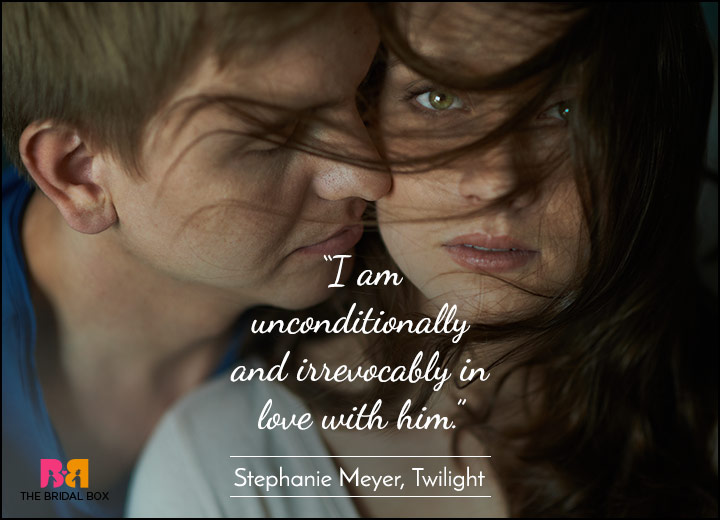 Short Love Quotes - Bound To You - Stephanie Meyer