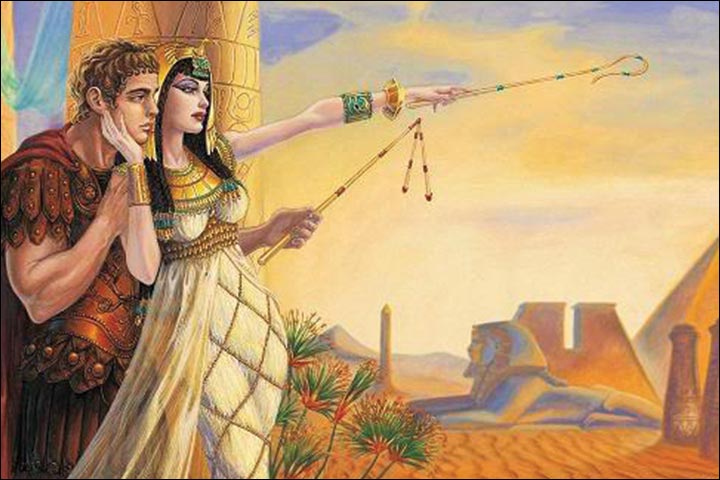 cleopatra and mark antony relationship