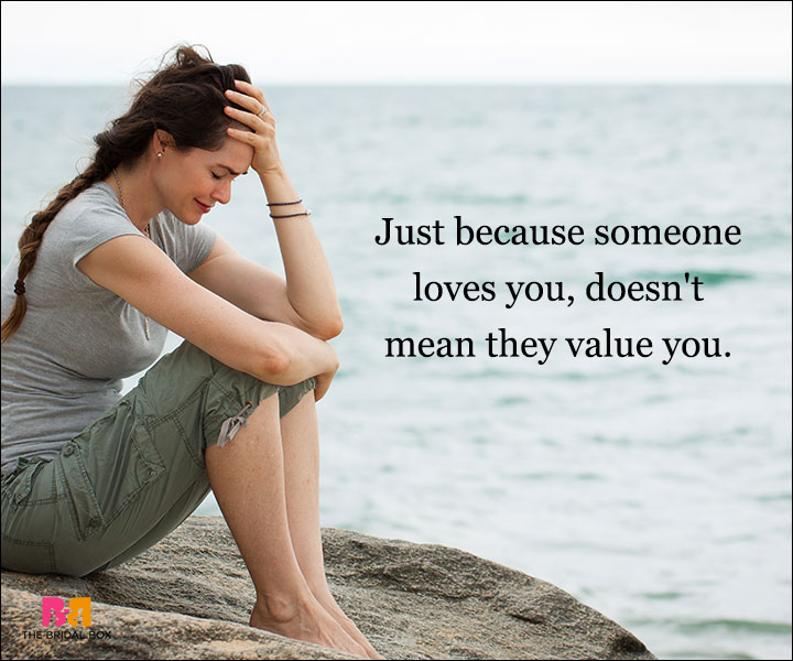 Depressed Love Quotes - Just Because
