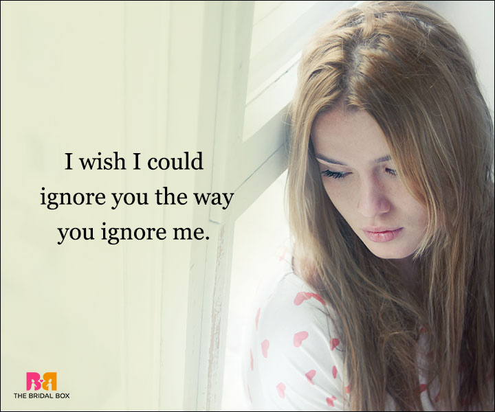 Depressed Love Quotes - I Wish I Could