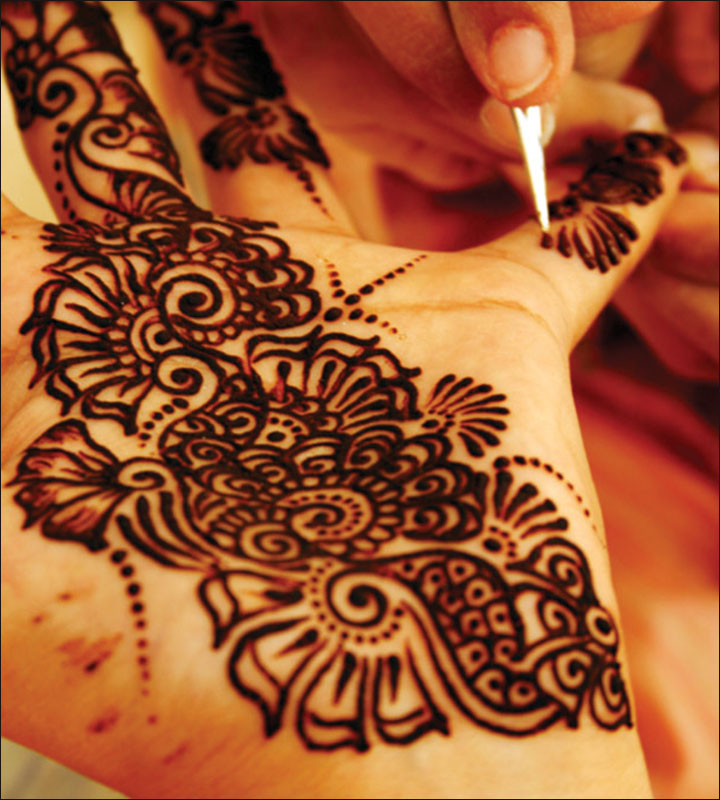 Dotted Beauty Arabic Mehndi Design