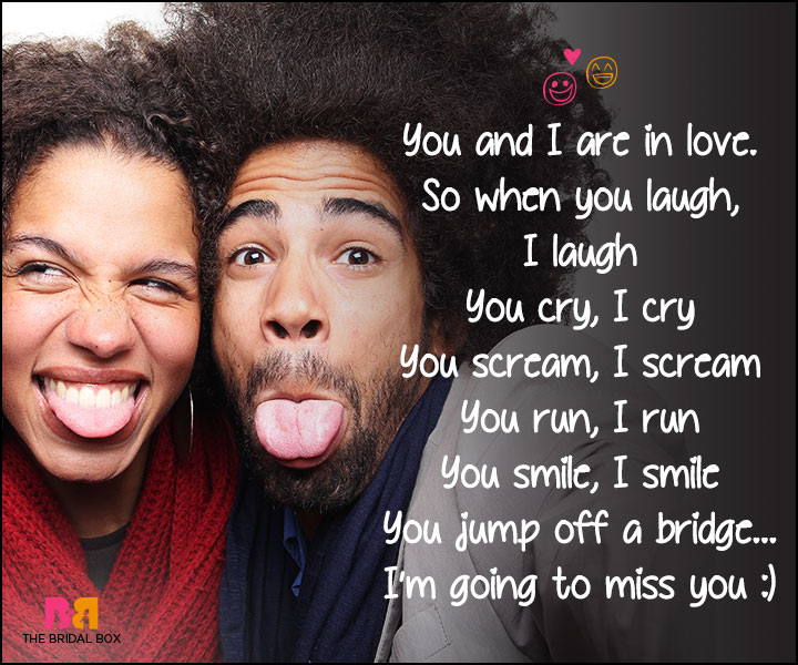 Funny Love Poems - Don't Do That