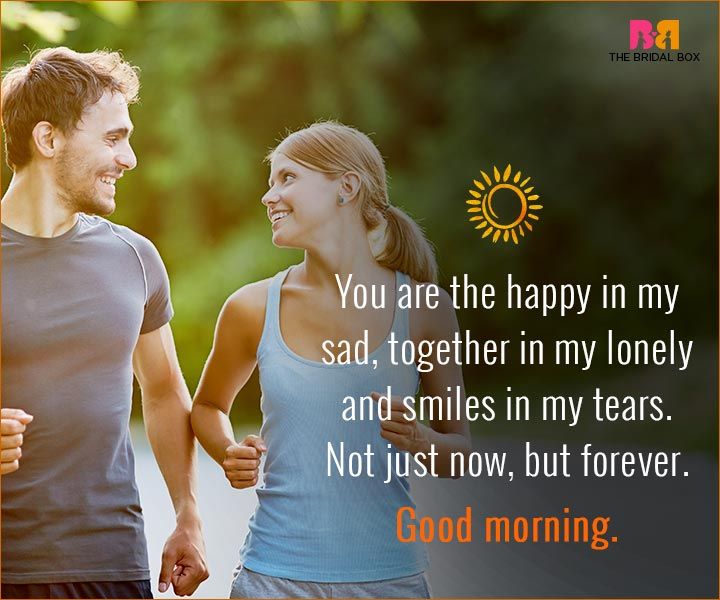Good Morning Love Quotes For Husband - The Happy In My Sad