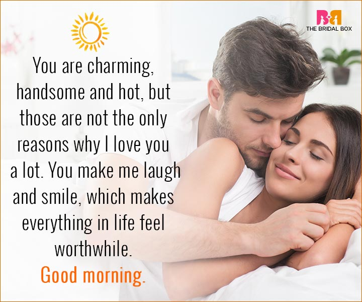 Good Morning Love Quotes For Husband 15 Sweet Quotes For Him