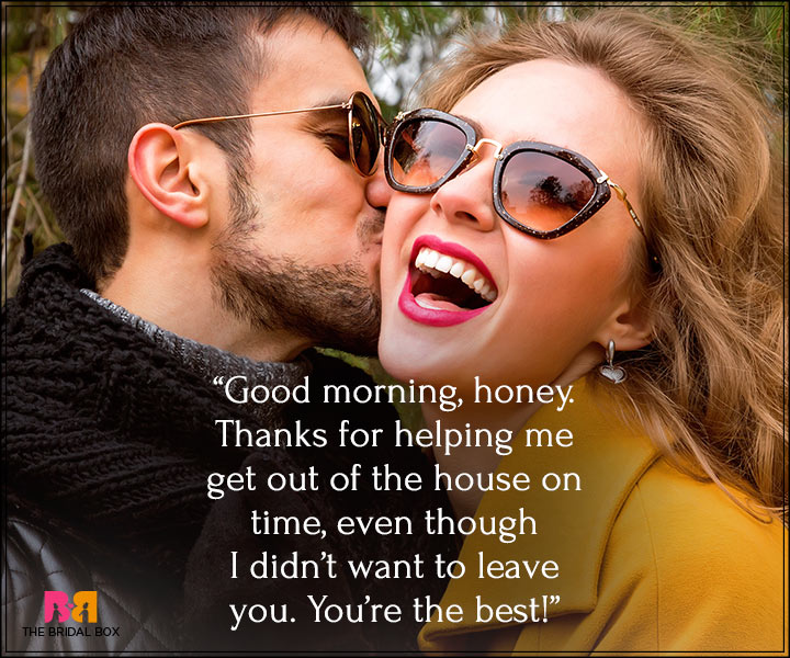 Good Morning Love Messages For Boyfriend - You're The Best