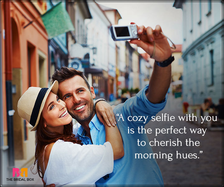 Good Morning Love Messages For Boyfriend - A Cozy Selfie