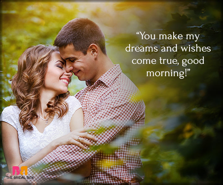 Good Morning Love Messages For Boyfriend - All My Dreams And Wishes