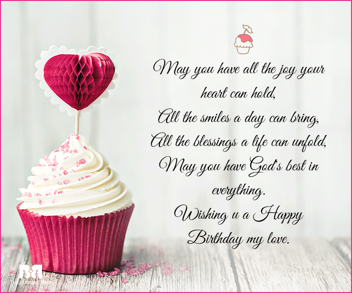 Happy Birthday To You My Sweet Loving One