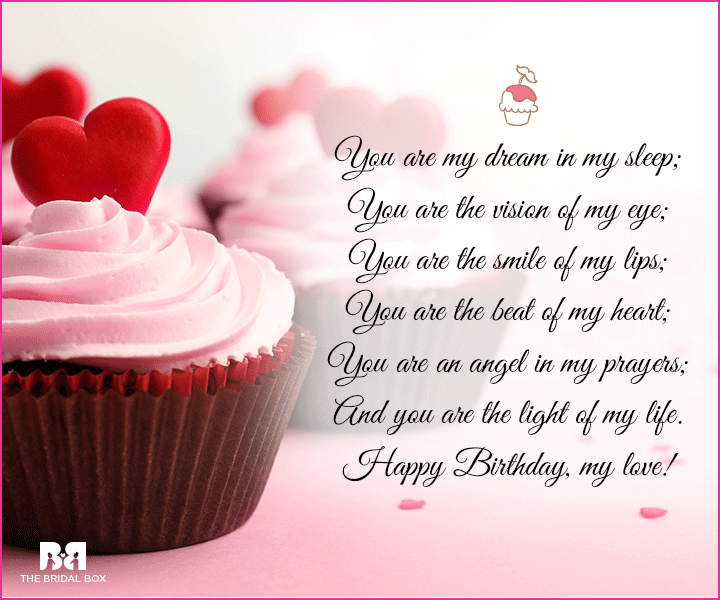 Happy Birthday Love SMS - You Are My Angel