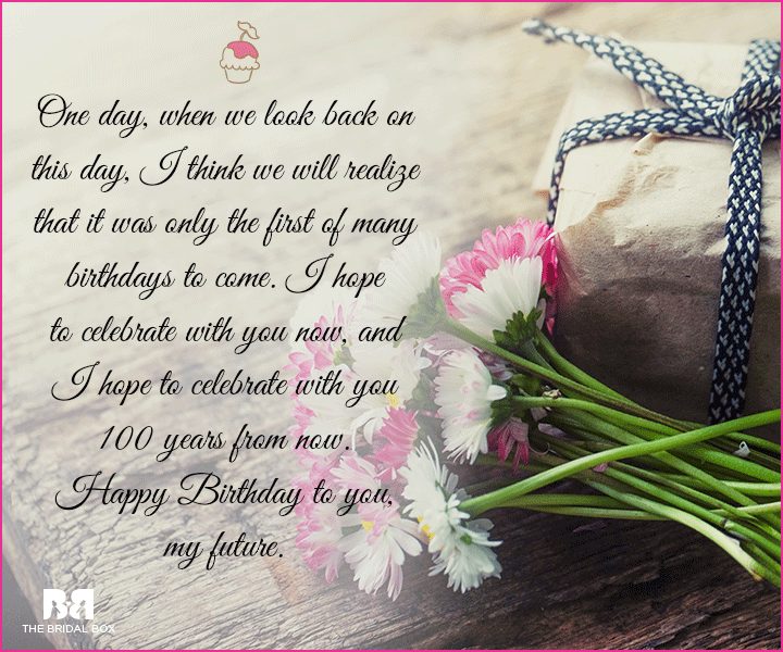 Birthday message for your loved one