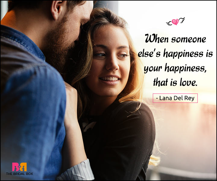 Happy Love Quotes - That Is Love