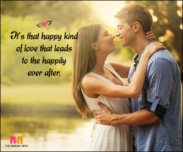 Happy Love Quotes - The Happily Ever After