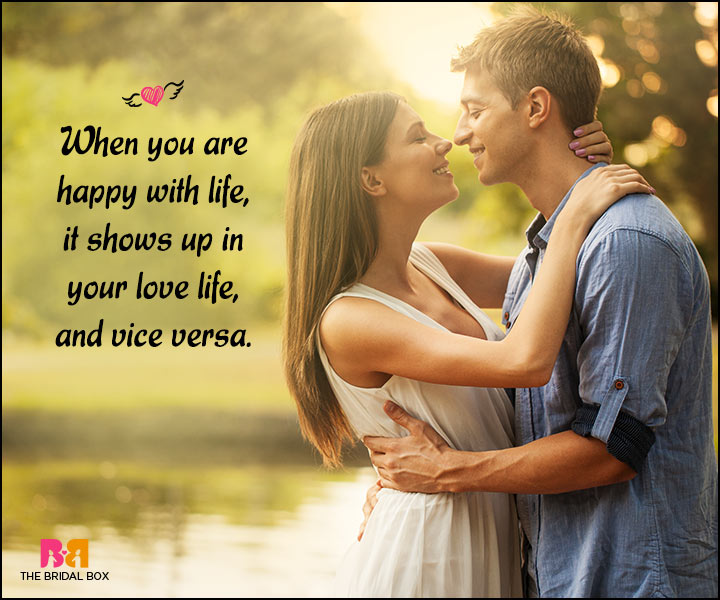 Happy Love Quotes - It Shows