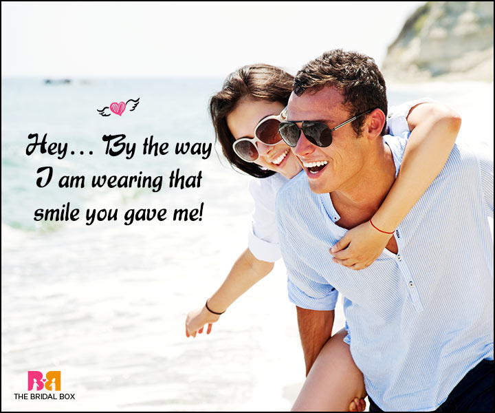 Happy Love Quotes - I'm Wearing The Smile