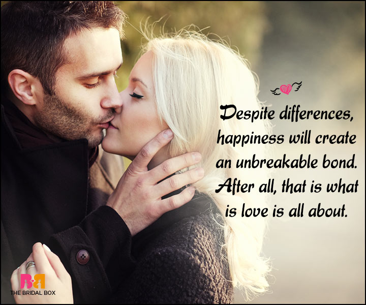 Happy Love Quotes - An Unbreakable Bond