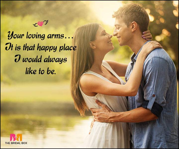 Happy Love Quotes - That Happy Place