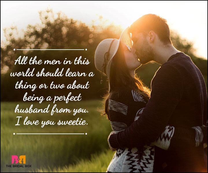 Husband And Wife Love Quotes - All The Other Guys