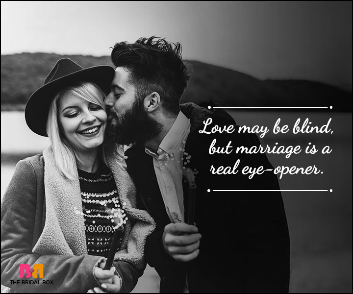 Husband And Wife Love Quotes - But Marriage