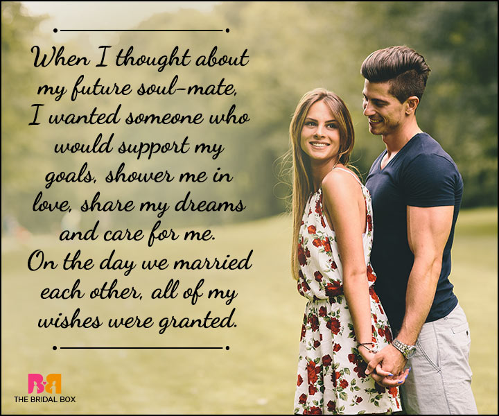 Husband And Wife Love Quotes - Soulmates