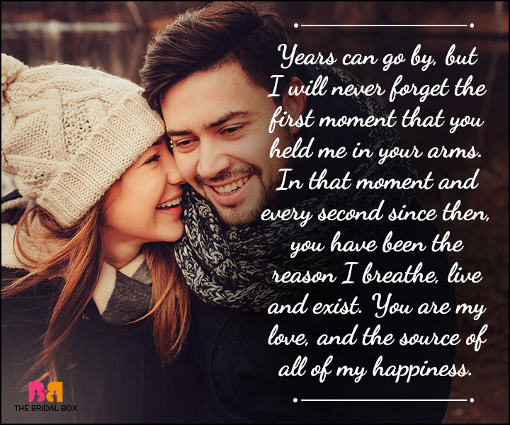 Husband And Wife Love Quotes - In That Moment